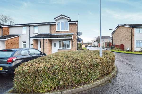 2 Bedrooms Flat for sale in 31 Smithstone Court, Girdle Toll, Irvine, KA11 1QB