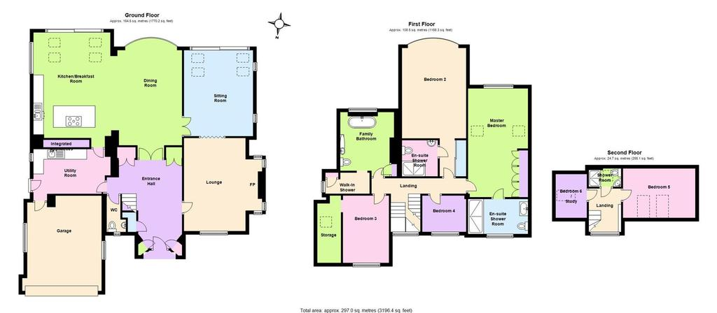 Floorplan: 39 Boundary Rd Road West Bridgford Nottingham (002