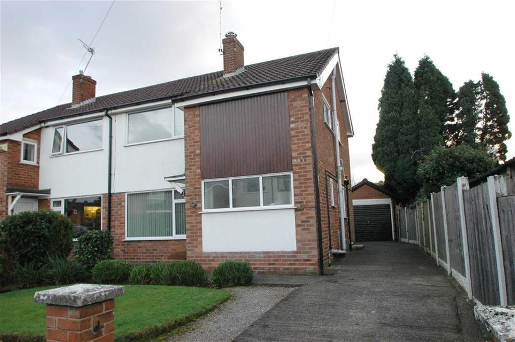 4 Bedrooms Semi Detached House for sale in Grange Road, Vicars Cross, Chester