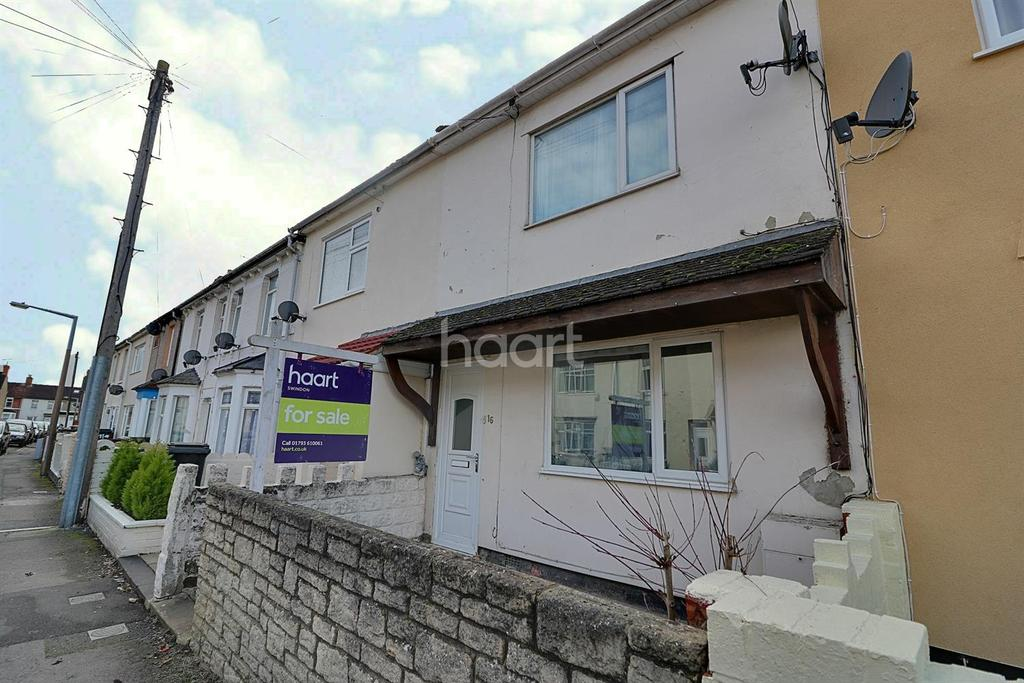 3 Bedrooms Terraced House for sale in Florence Street, Swindon, Wiltshire