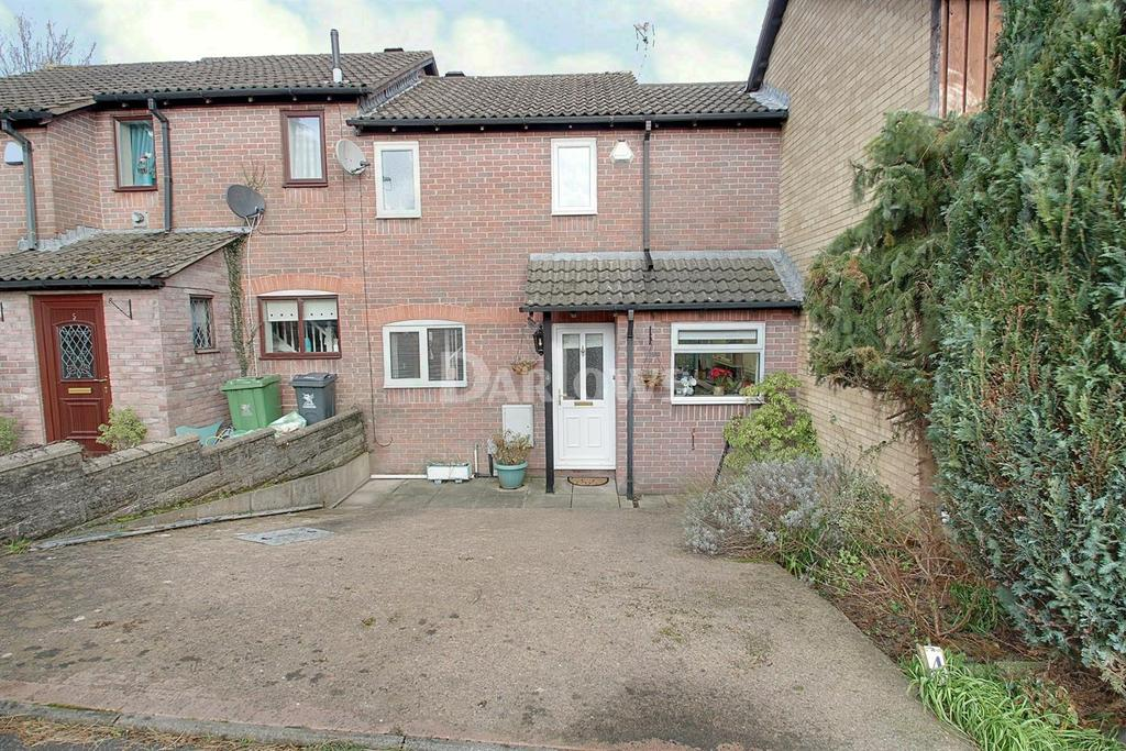2 Bedrooms Terraced House for sale in St Pierre Close, St Mellons, Cardiff
