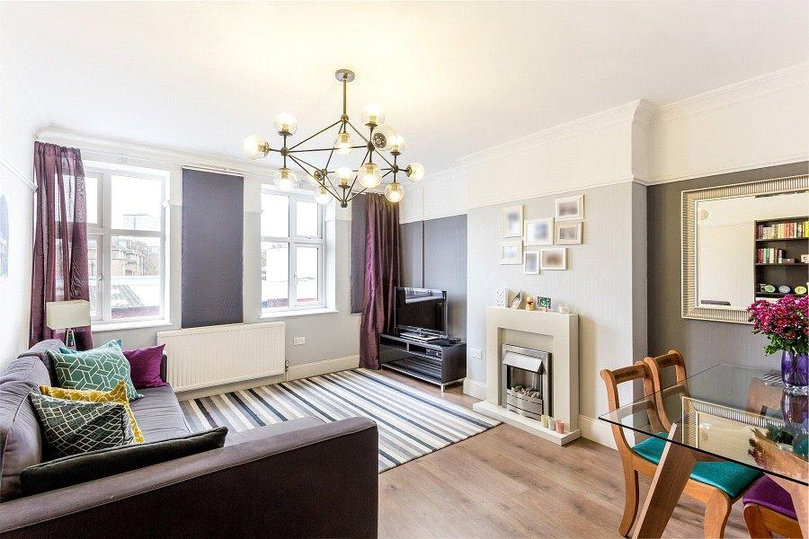 2 Bedrooms Flat for sale in Argyle Mansions, Seven Sisters Road, London, N7
