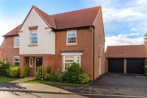4 bedroom detached house for sale - Hampden Way, Greylees, Sleaford, Lincolnshire, NG34