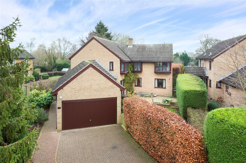 4 Bedrooms Detached House for sale in Pilgrims Lane, Bugbrooke, Northamptonshire, NN7