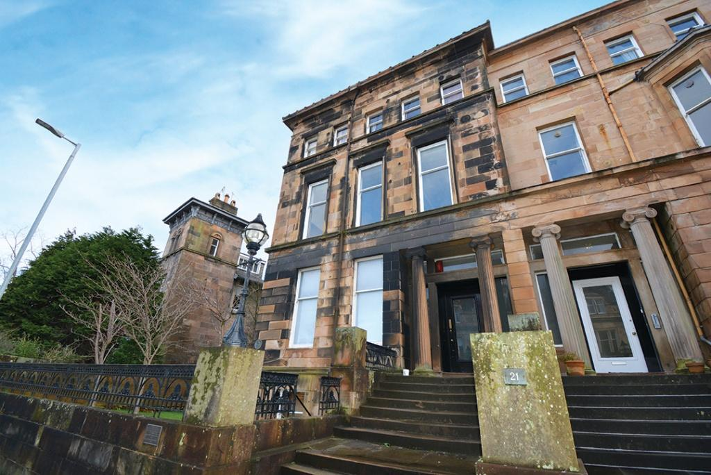 1 Bedroom Flat for sale in 21 Hyndland Road, Hyndland, G12 9UZ