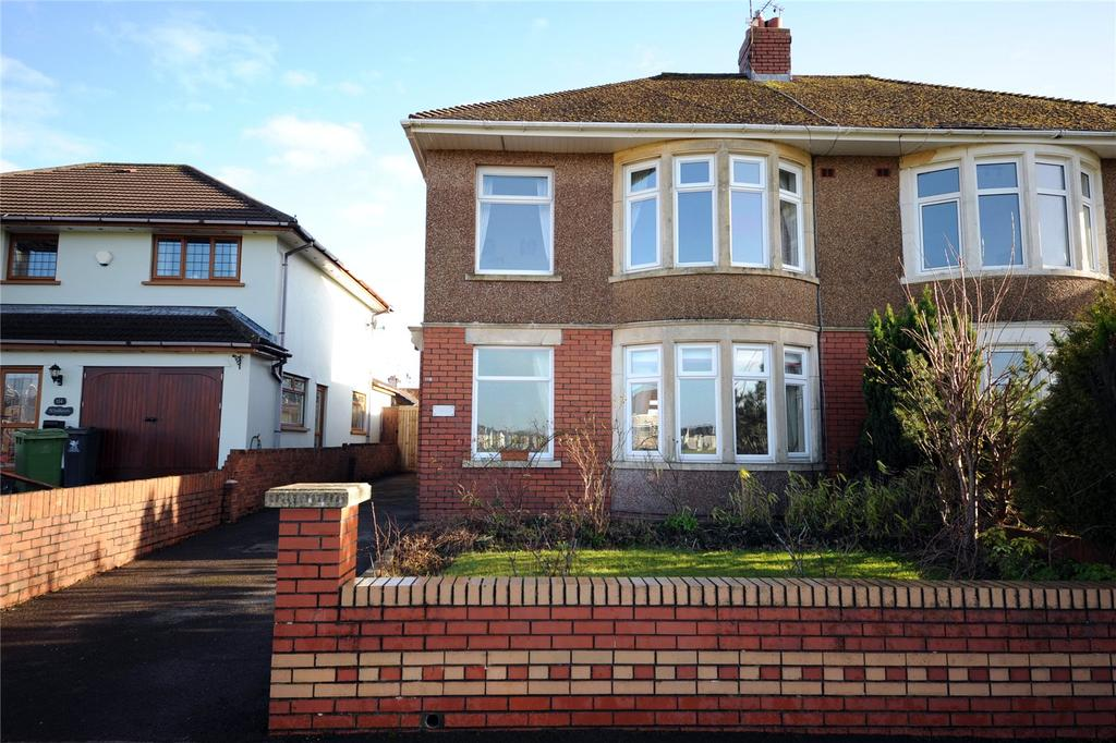 3 Bedrooms Semi Detached House for sale in King George V Drive North, Heath, Cardiff, CF14
