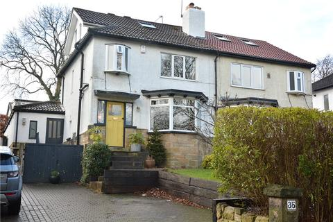 4 bedroom semi-detached house for sale - West Park Drive East, Roundhay, Leeds