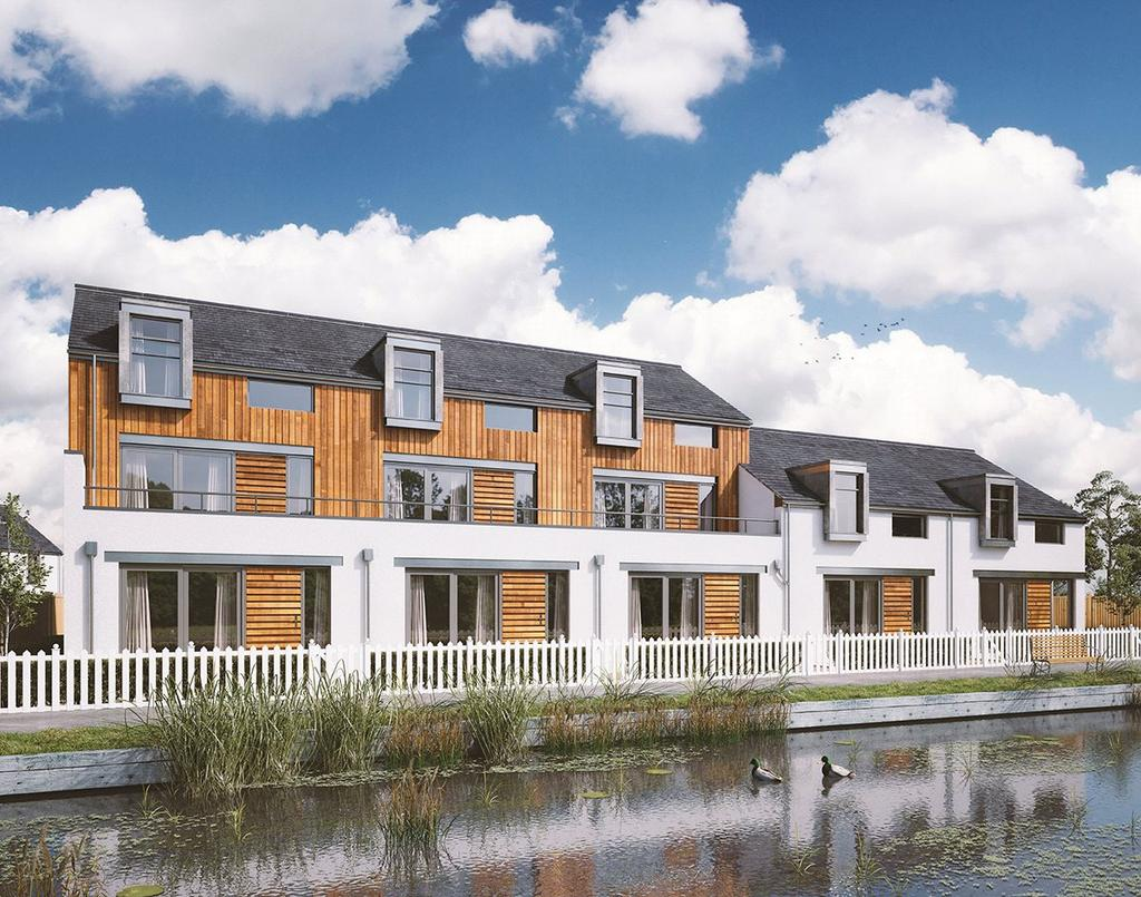 4 Bedrooms End Of Terrace House for sale in Wharfside Mews, Padworth, Reading, Berkshire, RG7