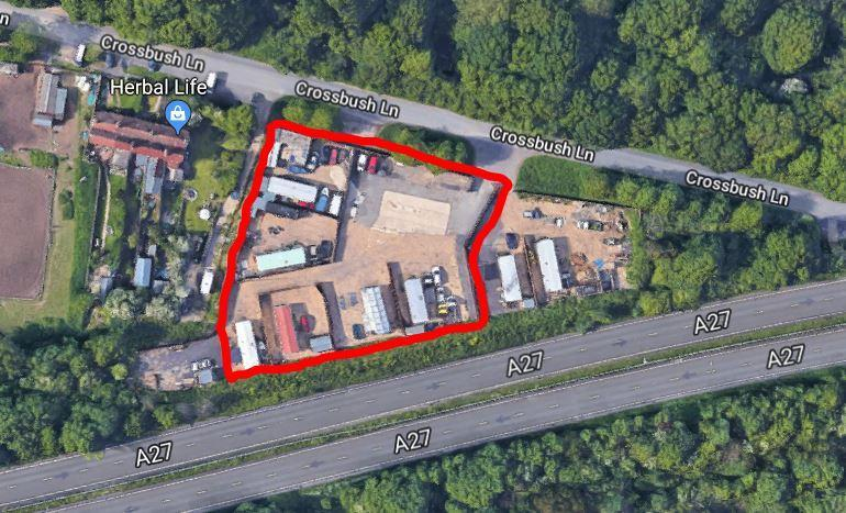 Land Commercial for sale in Crossbush Lane, Poling, Arundel, West Sussex, BN18 9FH