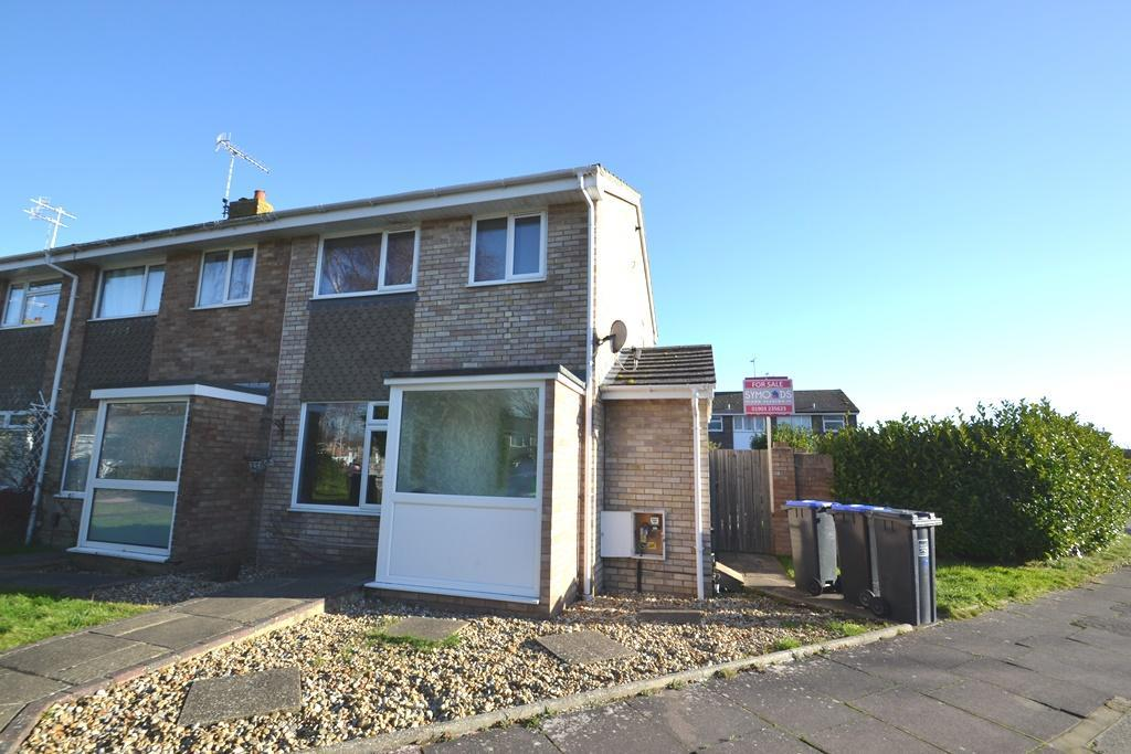 3 Bedrooms End Of Terrace House for sale in Coleridge Crescent, Goring By Sea, Worthing, BN12 6LT