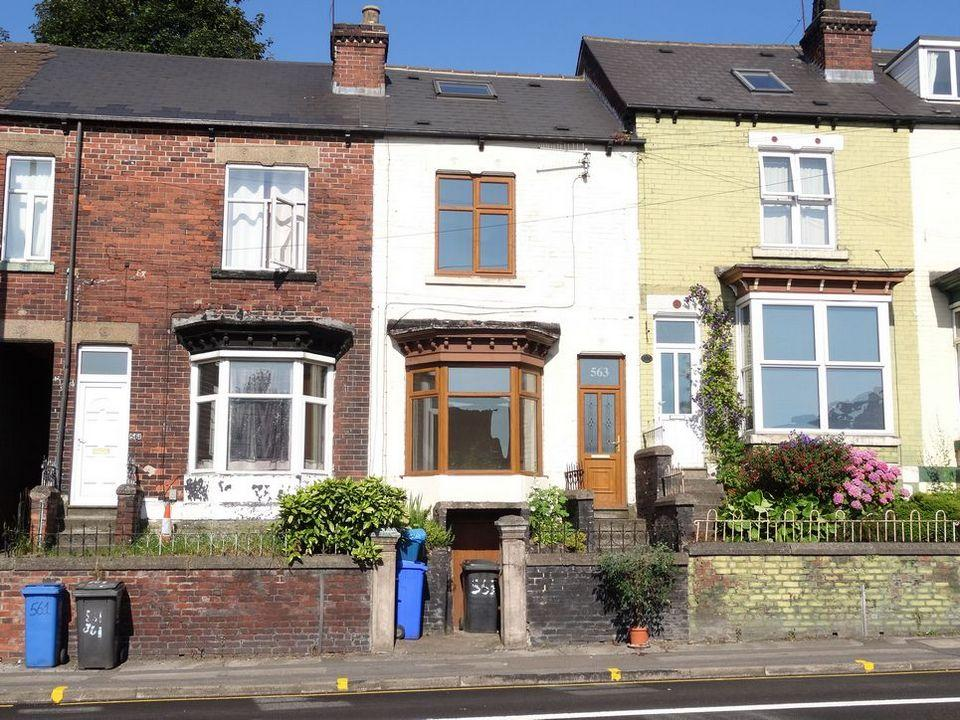 3 Bedrooms Terraced House for sale in Chesterfield Road, Woodseats, Sheffield S8