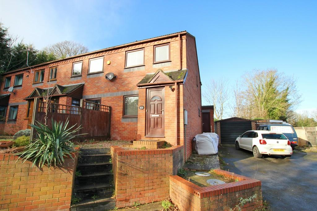 2 Bedrooms End Of Terrace House for sale in Albert Road, WORCESTER