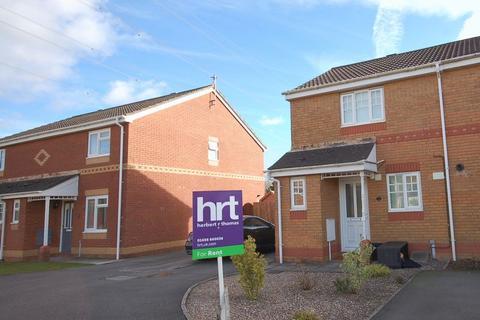 2 bedroom end of terrace house to rent - 13 Banc Gwyn, Broadlands, Bridgend, CF31 5DJ