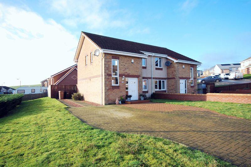 3 Bedrooms Semi-detached Villa House for sale in 1 Burns Wynd, Maybole, KA19 8FF