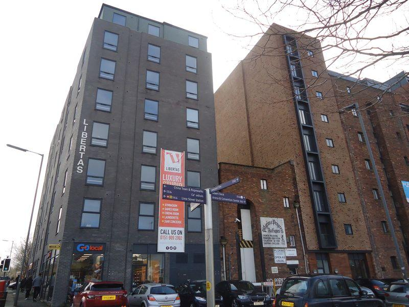 1 Bedroom Apartment Flat for sale in St James Street, Liverpool