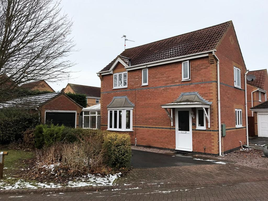 3 Bedrooms Detached House for sale in Moorgate Close, Morton, PE10