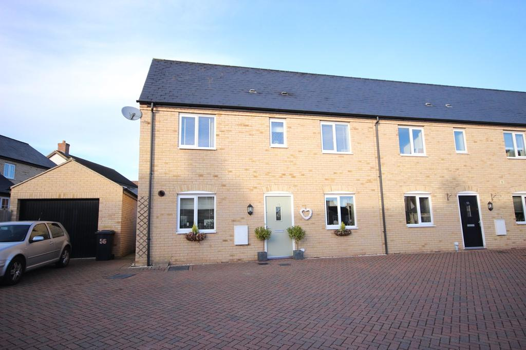 3 Bedrooms End Of Terrace House for sale in Mander Farm Road, Silsoe, MK45