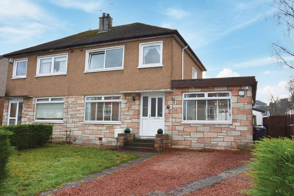 3 Bedrooms Semi-detached Villa House for sale in Gordon Crescent, Newton Mearns, Glasgow, G77