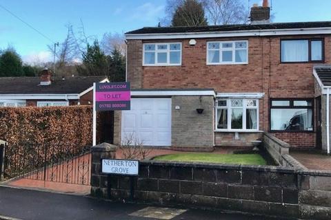 3 bedroom semi-detached house to rent - Netherton Grove, Stoke-on-Trent