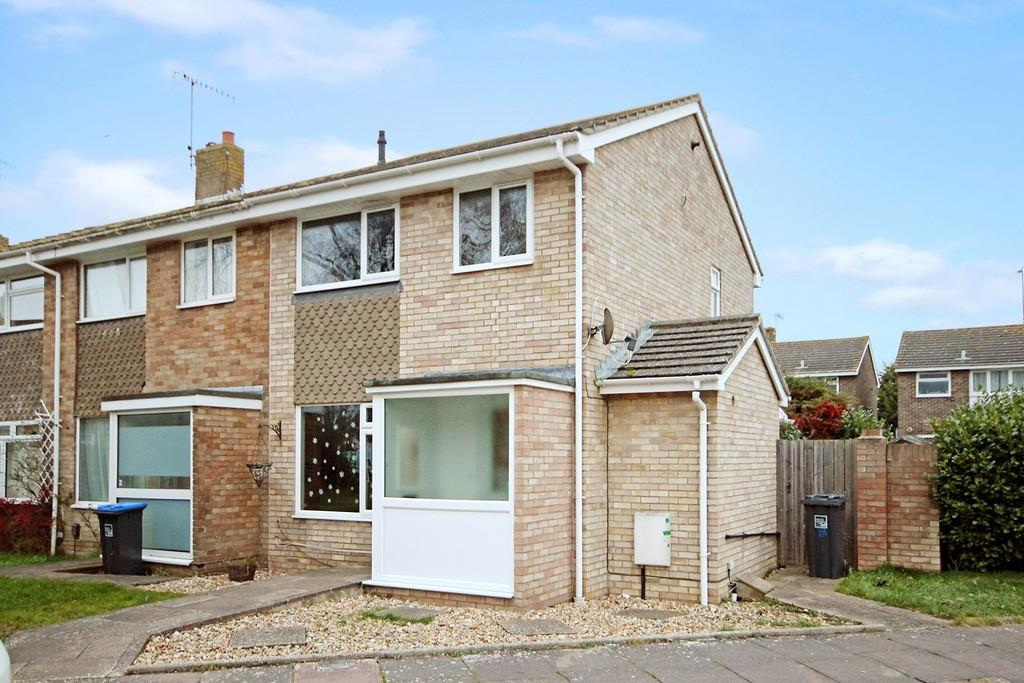 3 Bedrooms End Of Terrace House for sale in Coleridge Crescent, Goring-by-sea BN12 6LT
