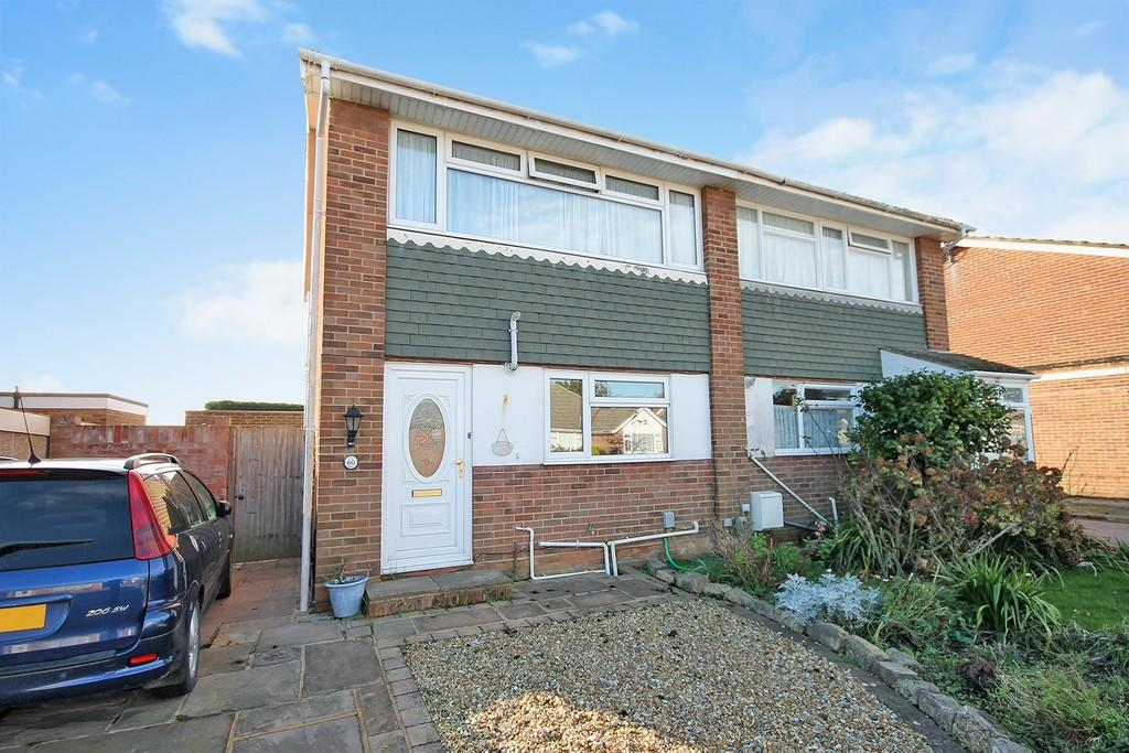 2 Bedrooms Semi Detached House for sale in Ingleside Crescent, Lancing, BN15 8EW