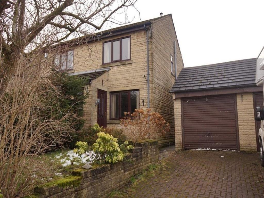 2 Bedrooms Semi Detached House for sale in Ling Park Approach, Wilsden