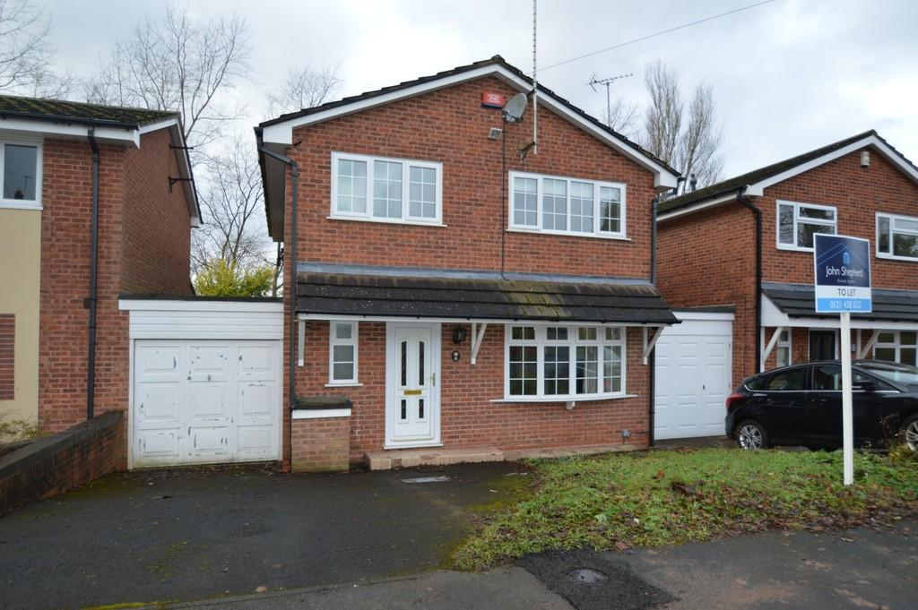 4 Bedrooms Link Detached House for sale in Churchcroft, Harborne, Birmingham