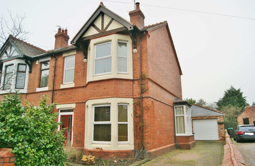 4 Bedrooms Semi Detached House for sale in Foster Road, Wrexham