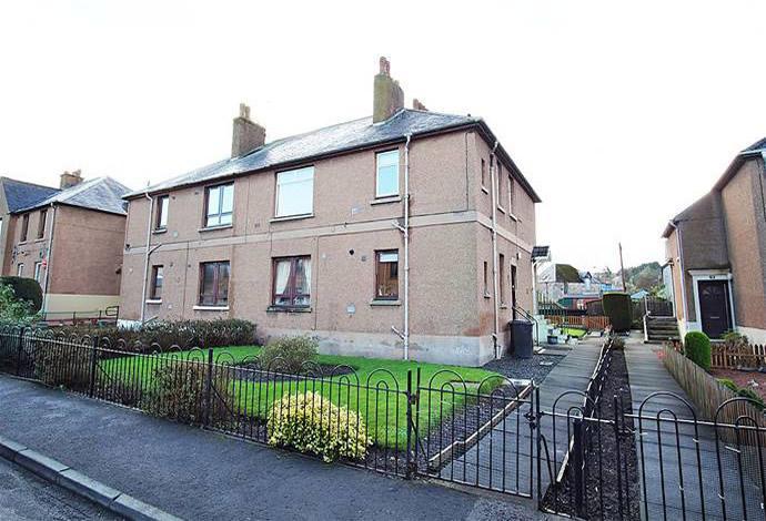 2 Bedrooms Flat for sale in 10 Bongate Gardens, Jedburgh, TD8 6DP