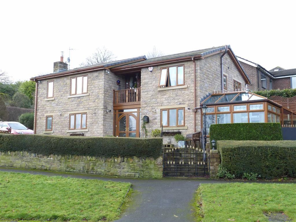 3 Bedrooms Detached House for sale in Simmondley New Road, Glossop
