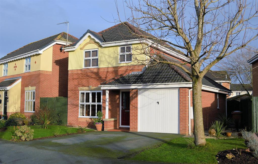 3 Bedrooms Detached House for sale in Forge Fields, Wheelock
