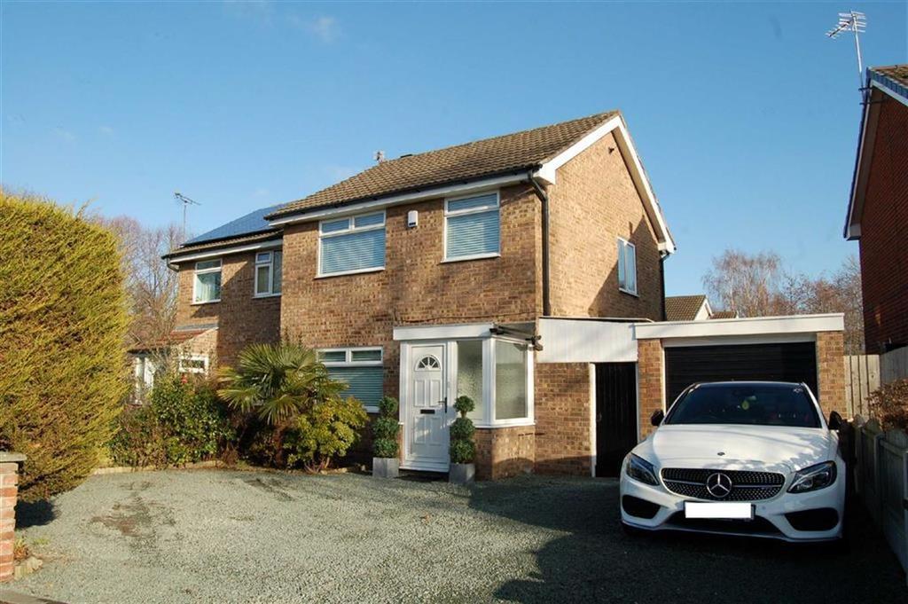 3 Bedrooms Semi Detached House for sale in Warrington Avenue, Whitby, Ellesmere Port