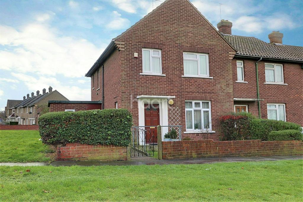 3 Bedrooms End Of Terrace House for sale in Farthing Close, Dartford, DA1