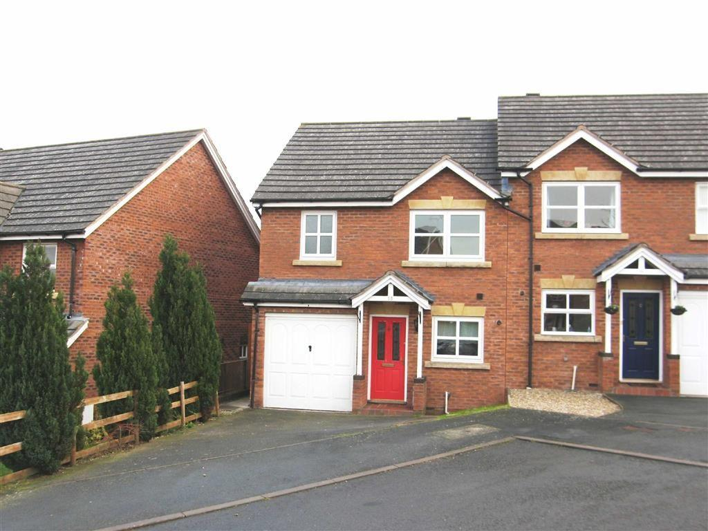 3 Bedrooms Semi Detached House for rent in Godiva Road, Leominster, Herefordshire