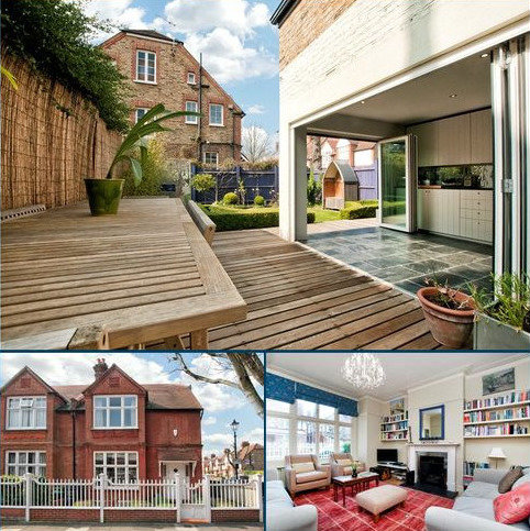 4 bedroom semi-detached house to rent - Woodstock Road, Chiswick, London, W4