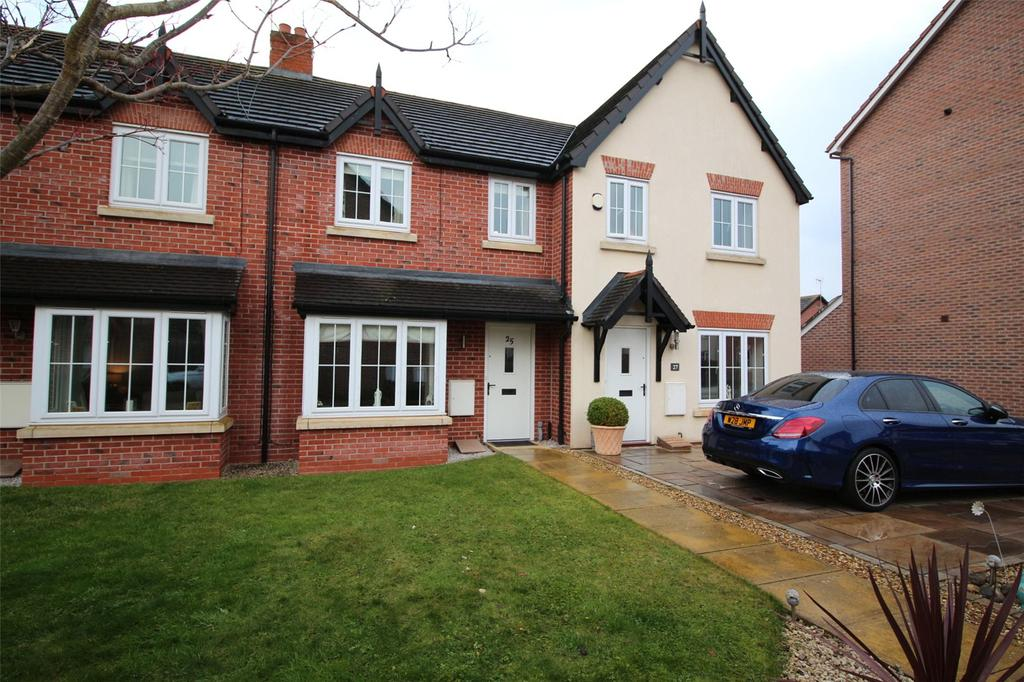 3 Bedrooms Terraced House for sale in Hardwick Drive, Gwersyllt, Wrexham, LL11