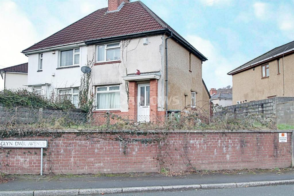 2 Bedrooms Semi Detached House for sale in Glyn-dwr Avenue, Rhydyfelin