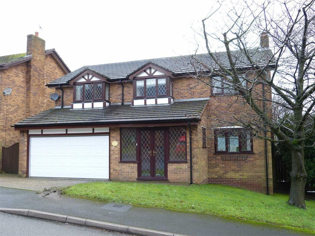 4 Bedrooms Detached House for sale in Springwood, Glossop, Glossop