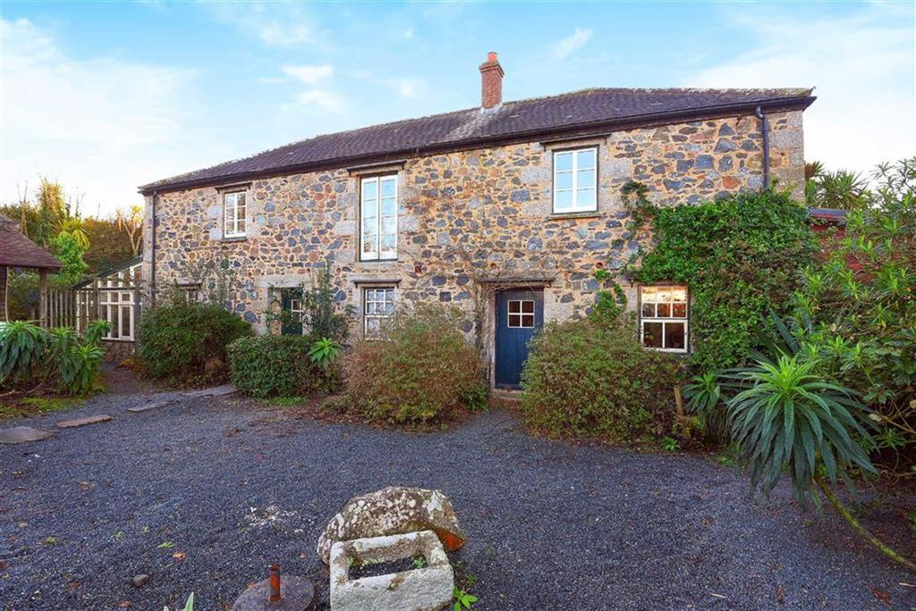 4 Bedrooms Detached House for sale in Tregaminion, St Keverne, Helston, Cornwall, TR12