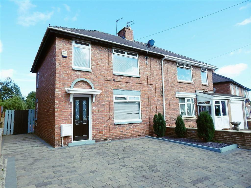 3 Bedrooms Semi Detached House for sale in Queens Crescent, Wallsend, Tyne And Wear, NE28
