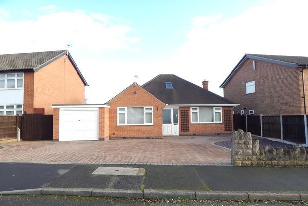 3 Bedrooms Detached Bungalow for sale in Oakwood Drive, Aspley, Nottingham, NG8