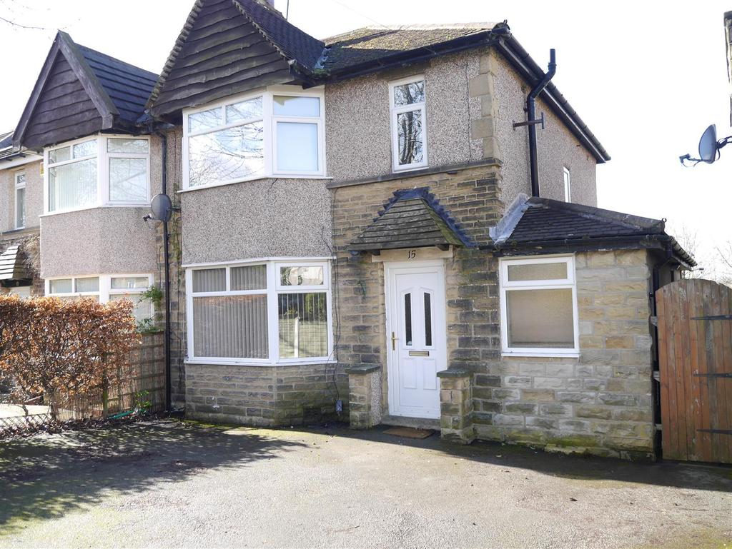 3 Bedrooms Semi Detached House for sale in Kingsdale Crescent, Bradford, BD2 4DD