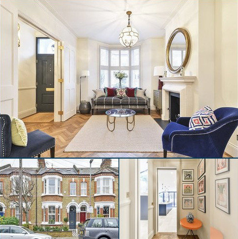 5 bedroom house for sale - Rosenau Crescent, London, SW11