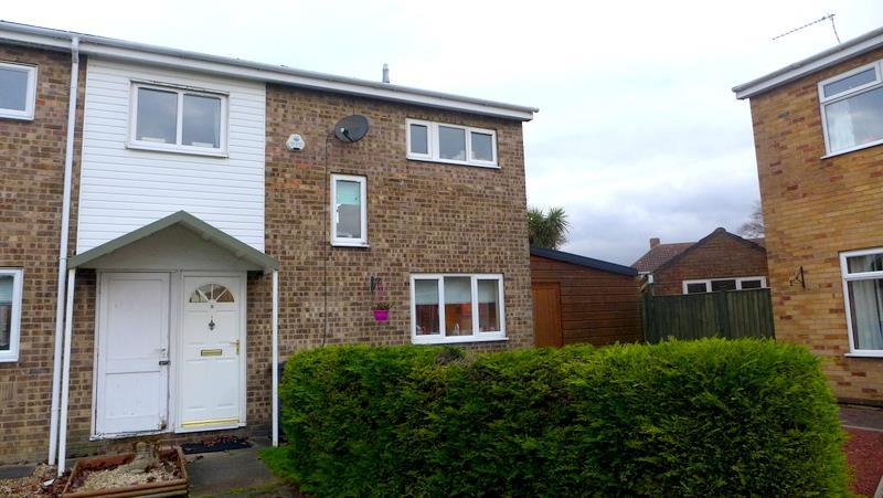3 Bedrooms End Of Terrace House for sale in Normanhurst Close, Lowestoft