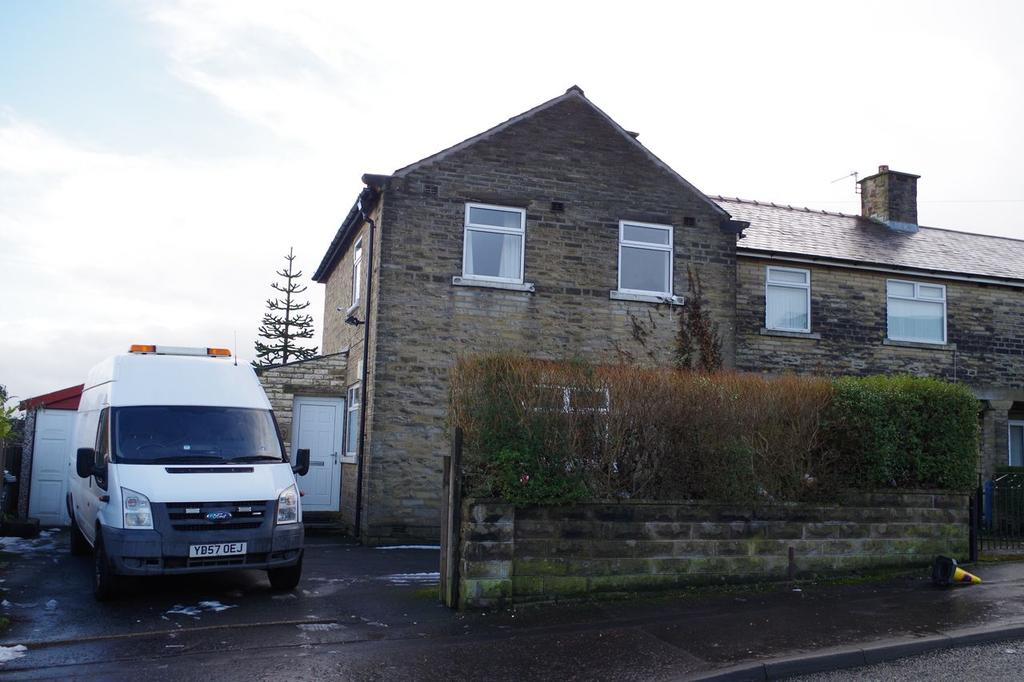 3 Bedrooms End Of Terrace House for sale in Nursery Lane, Ovenden, Halifax HX3