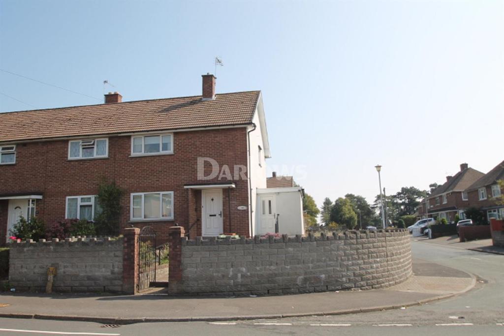 2 Bedrooms End Of Terrace House for sale in Llanrumney Avenue, Llanrumney, Cardiff