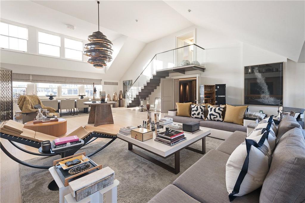 2 Bedrooms Penthouse Flat for sale in Grosvenor Crescent, Belgravia, London, SW1X