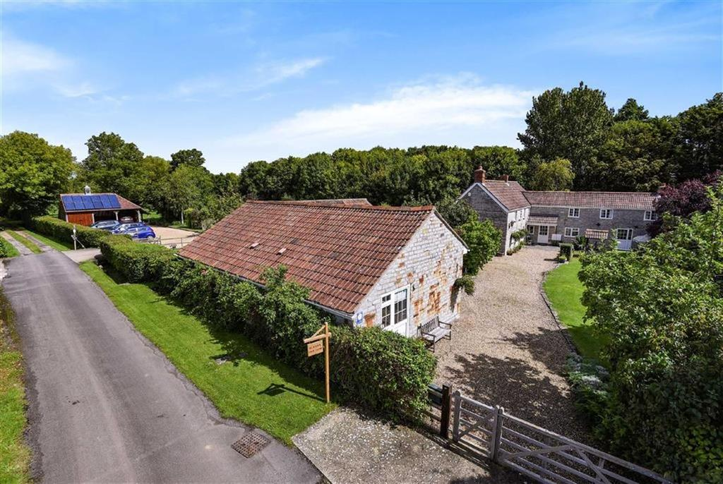 4 Bedrooms Detached House for sale in Double Gates Drove, Barton St David, Somerton, Somerset, TA11