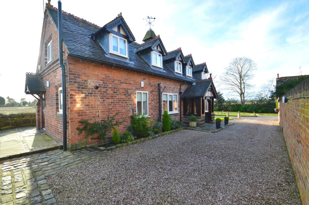 4 Bedrooms Detached House for sale in Ollershaw Lane, Marston, Northwich