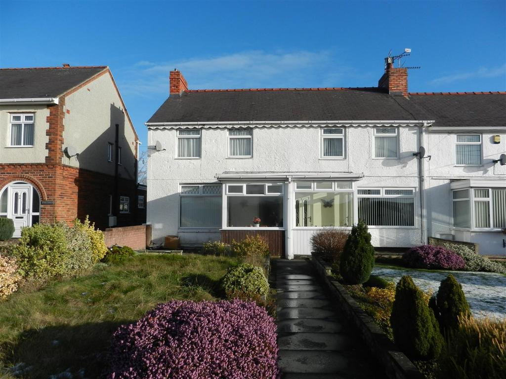 3 Bedrooms Terraced House for sale in Pleasant Villas, Caego, Wrexham